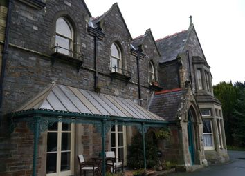 Thumbnail 2 bedroom flat to rent in Bronpadarn Mansion, Llanbadarn