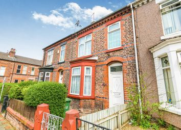 Thumbnail 3 bed terraced house for sale in Maple Street, Tranmere, Birkenhead