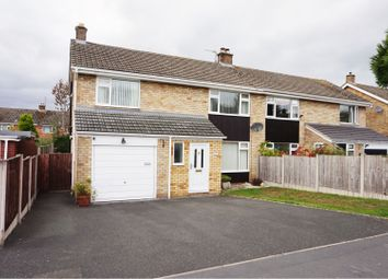 Thumbnail 4 bed semi-detached house to rent in Sherwood Crescent, Market Drayton