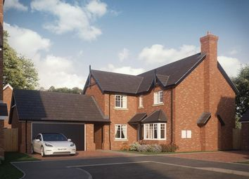 Thumbnail 4 bed detached house for sale in Abbots Lea. Off Shrewsbury Road, Hadnall, Shrewsbury