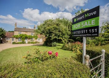 Thumbnail 5 bed detached house for sale in Church Street, Alwalton, Peterborough, Cambridgeshire.