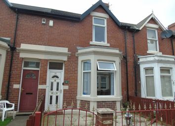 Thumbnail 2 bed terraced house to rent in Byron Avenue, Willington Quay, Wallsend