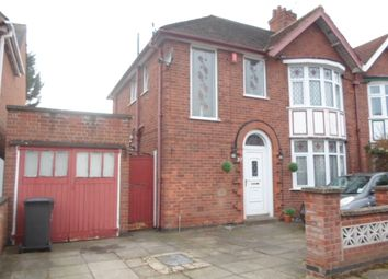 Thumbnail 3 bed semi-detached house for sale in Midway Road, Evington