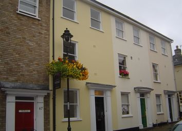 Thumbnail 2 bed terraced house to rent in Churchgate Street, Bury St. Edmunds
