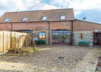 Thumbnail 3 bed semi-detached house for sale in Fakenham Road, Thursford, Fakenham