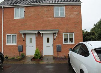 Thumbnail 2 bed semi-detached house to rent in Tarpan Walk, Westbury, Wiltshire