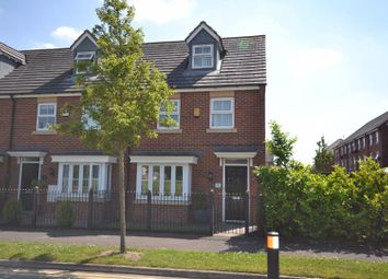 Thumbnail 3 bed town house for sale in Atlanta Gardens, Chapelford Village, Warrington