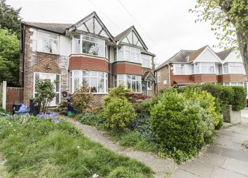 Thumbnail 3 bed semi-detached house for sale in Conway Crescent, Perivale, Greenford, Greater London