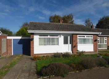 Thumbnail 2 bed detached bungalow for sale in Crisp Road, Ellingham, Bungay