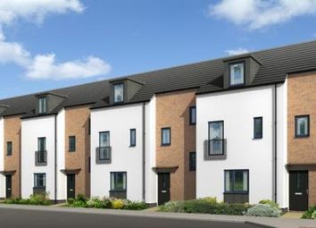 Thumbnail 4 bedroom town house for sale in Belgrave Riverside, Ross Walk, Leicester