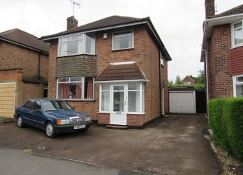 Thumbnail 3 bedroom detached house for sale in Kingsway, Braunstone, Leicester