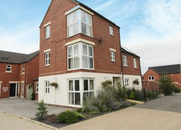 Thumbnail 4 bed detached house for sale in Orange Birch Close, Clowne, Chesterfield