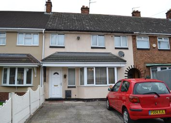 Thumbnail 3 bed terraced house to rent in Kirkstall Close, Bloxwich, Walsall