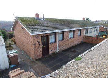 Thumbnail 3 bed semi-detached bungalow for sale in Carlyon Road, Pantside, Newbridge