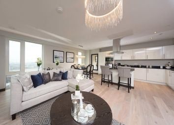Thumbnail 3 bed flat for sale in Olympian Way, Greenwich