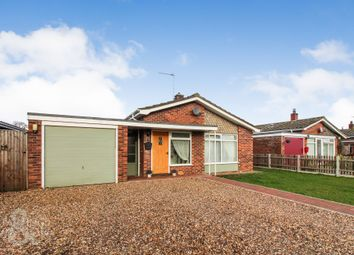 Thumbnail 3 bed detached bungalow for sale in Kingswood Close, Brooke, Norwich