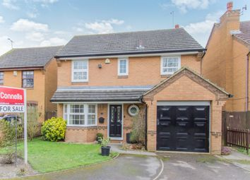 Thumbnail 4 bed detached house for sale in Kingsbridge Crescent, Anstey Heights, Leicester
