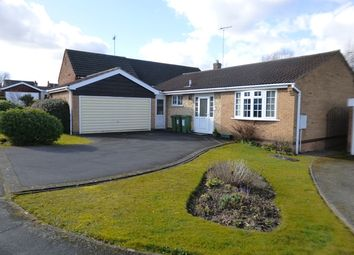 Thumbnail 2 bed bungalow for sale in St Peters Close, Glenfield, Leicester.