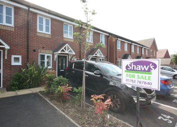 Thumbnail 2 bed town house for sale in Rowhurst Crescent, Talke, Stoke-On-Trent