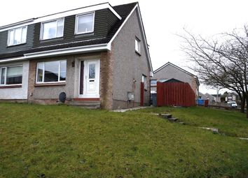 Thumbnail 3 bed semi-detached house for sale in 3, Tanzieknowe Road, Glasgow, South Lanarkshire