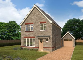 "Thumbnail 3 bedroom detached house for sale in ""Warwick"" at Cae Newydd, St. Nicholas, Cardiff"