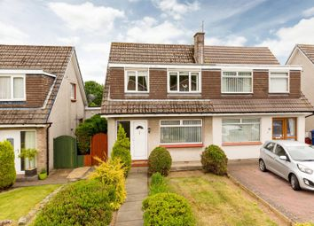 Thumbnail 3 bed semi-detached house for sale in Rullion Road, Penicuik, Midlothian