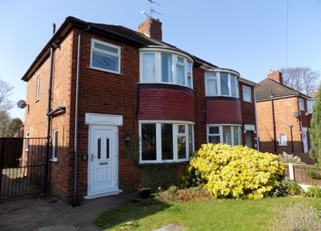 Thumbnail 3 bed semi-detached house for sale in Southwell Road, Doncaster