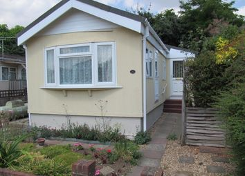 Thumbnail 1 bed mobile/park home for sale in Stirling Avenue, Grange Farm Estate, Shepperton, Surrey