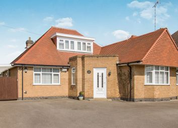 Thumbnail 4 bed detached bungalow for sale in Woodfield Road, Oadby, Leicester