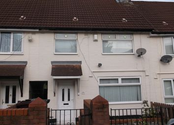 Thumbnail 3 bed terraced house to rent in Butleigh Road, Huyton