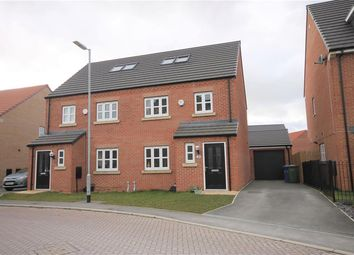 Thumbnail 4 bed semi-detached house for sale in Overend Avenue, Pocklington, York