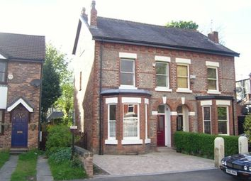 Thumbnail 4 bedroom semi-detached house to rent in Cresswell Grove, West Didsbury