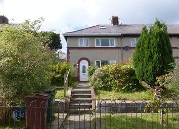 Thumbnail 4 bed end terrace house for sale in Trem Elidir, Bangor