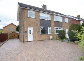 Thumbnail 3 bed semi-detached house for sale in Belvedere Avenue, Walton, Chesterfield