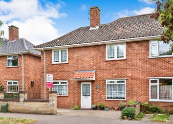 Thumbnail 3 bed semi-detached house for sale in Buckingham Road, Norwich