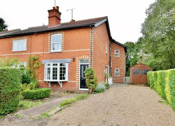 Thumbnail 3 bed semi-detached house for sale in Vapery Lane, Pirbright, Woking