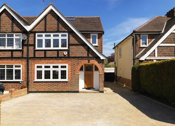 Thumbnail 4 bed semi-detached house for sale in Hampton Court Avenue, East Molesey
