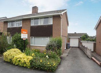 Thumbnail 3 bedroom semi-detached house for sale in Coleridge Road, Blurton, Stoke-On-Trent, Staffordshire