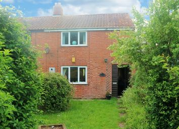 Thumbnail 3 bedroom semi-detached house for sale in Ipswich Road, Wacton, Norwich, Norfolk
