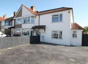 Thumbnail 4 bed end terrace house for sale in Rowley Avenue, Blackfen, Sidcup