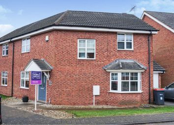 Thumbnail 3 bed semi-detached house for sale in Broadlands Close, Sutton-In-Ashfield