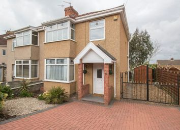 Thumbnail 3 bed semi-detached house for sale in Northfield Road, St. George, Bristol