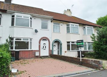 Thumbnail 3 bed terraced house for sale in Wharnecliffe Gardens, Whitchurch, Bristol