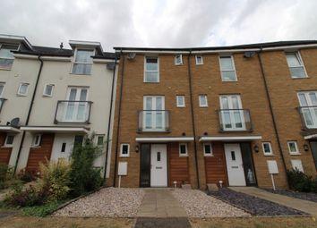 Thumbnail 4 bed town house for sale in Top Fair Furlong, Giffard Park, Milton Keynes