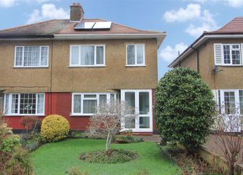 Thumbnail 3 bed semi-detached house for sale in Burnham Avenue, Ickenham