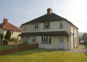 Thumbnail 3 bed semi-detached house to rent in Vicarage Road, Carhampton, Minehead