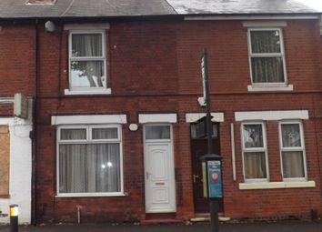 Thumbnail 3 bed terraced house for sale in Vernon Road, Old Basford, Nottingham