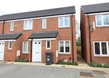 Thumbnail 2 bedroom end terrace house for sale in Guardian Way, Luton