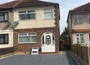 Thumbnail 3 bed semi-detached house to rent in Lochmere Close, Erith