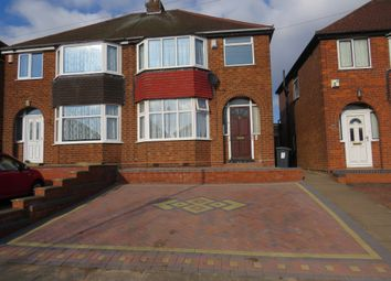 Thumbnail 3 bed semi-detached house for sale in Mildenhall Road, Great Barr, Birmingham